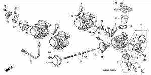 Honda Shadow 600 Carburetor Diagram
