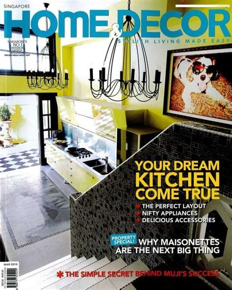 Home Decorating Magazines Cover  My Home Style