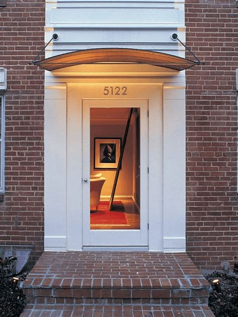 front door awning kit  design ideas
