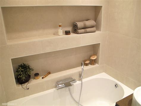 niche de salle de bain fabriquer niche salle de bain chaios