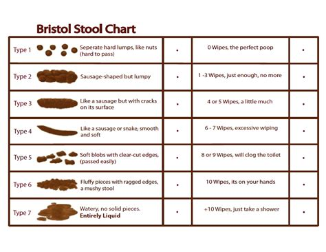 Bristols Stool Chart Gaps Diet Pinterest Gaps Diet