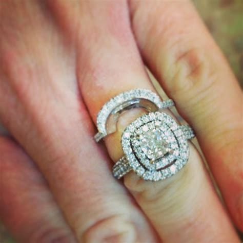 wedding rings to fit around engagement ring wedding rings shaped to fit engagement rings hello