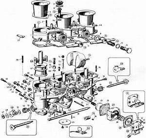 Weber 40  46 Ida 3 Bbl Diagram