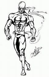 Fist Iron Coloring Pages Popular Marvel Template sketch template