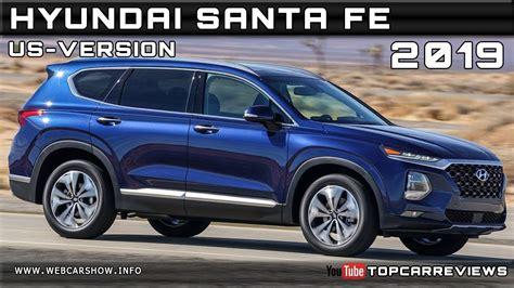 2019 Hyundai Santa Fe Usversion Review Rendered Price