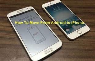 how to transfer data from android to iphone how to transfer contacts from android to iphone ubergizmo