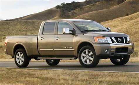 truck nissan titan car and driver