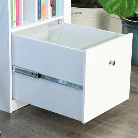 amazon com white wood deluxe storage computer desk with