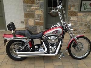 2004 Harley I Dyna Wide Glide U00ae  Red  Silver