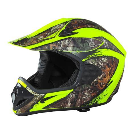 camo motocross shc sh or realtree xtra camo helmet atv mx off