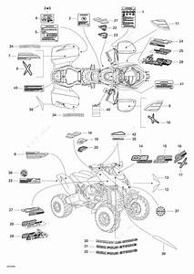bombardier 2004 ds 650 ds 650 baja x decals parts catalog With ski doo wiring diagram furthermore bombardier rotax 650 engine diagram