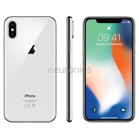 smartphone apple iphone x 256 gb mqag2et a
