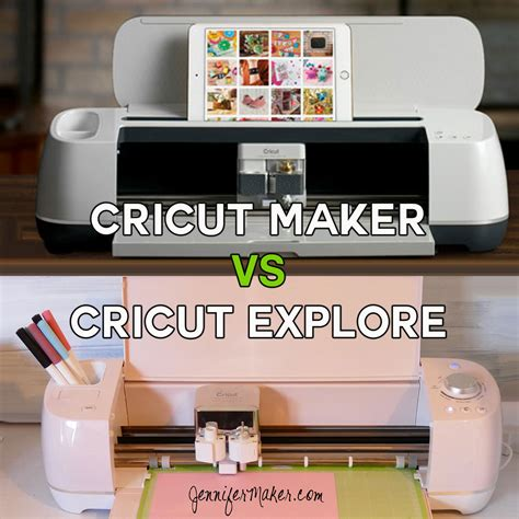 Cricut Maker Vs Cricut Explore What's Different, What's