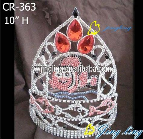 style animal fish special custom pageant crowns china