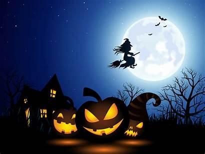 Halloween Spooky Illustration Background Pumpkin Wallpapers Bingo