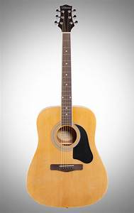 Silvertone Sd3000 Acoustic Guitar Package  Natural