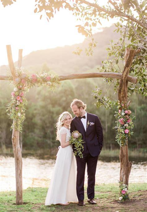 floral wedding altars arches decorating ideas