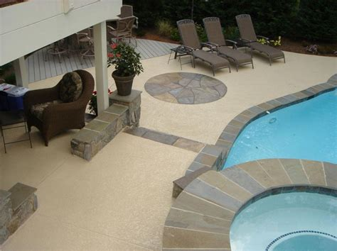 resurface pool deck with tile enthralling resurface pool decks concrete with outdoor