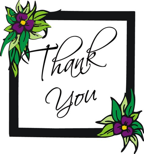 Free Thank You Clipart Clip Thank You Images Clipart Best