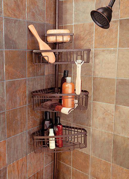tension pole caddy storage      shower http