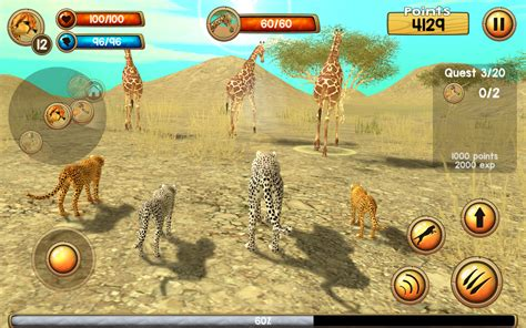 Amazon.com: Wild Cheetah Sim 3D: Appstore for Android