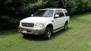 Purchase Used 2001 White Ford Expedition Eddie Bauer 4wd Suv In Cambridge  Ohio  United States