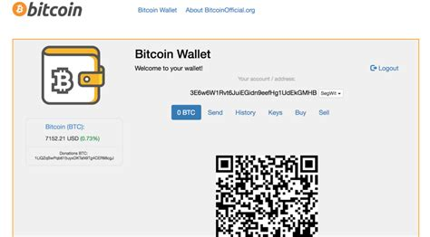 In any case, choosing a wallet is easy and can be done in minutes. BitcoinOfficial.org: How to open a Bitcoin Wallet online? (Example) - Knnit