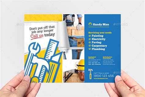handyman flyer template  brandpacks graphicriver