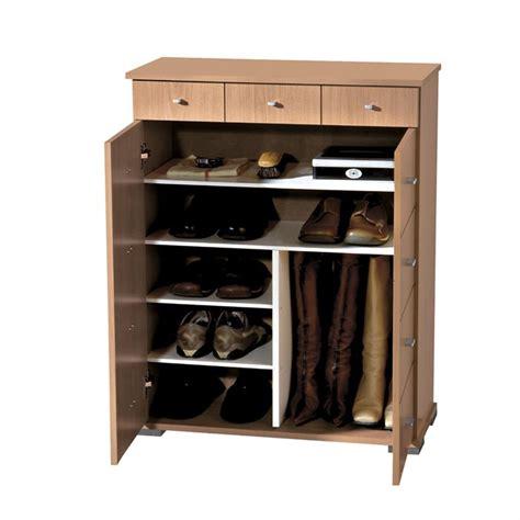 model placard cuisine meuble à chaussures 215 jusqu 39 à 30 paires hêtre achat
