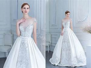 two gowns in one 26 fashion forward convertible wedding With convertible wedding dresses