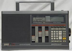 Grundig Satellit International 400 Portable Receiver W