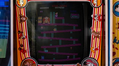 Realistic Donkey Kong Arcade Bezels Updated Youtube