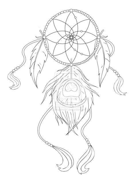 Simple Dreamcatcher Tattoo Designs Images & Pictures - Becuo | Dream catcher tattoo design
