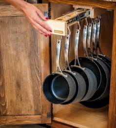kitchen storage ideas for pots and pans organization tips browzer