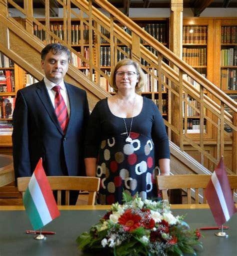 Parakstīta Latvijas - Ungārijas sadarbības programma ...