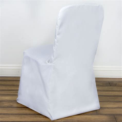 white square top banquet chair cover efavormart