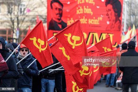 Communist Flag Photos and Premium High Res Pictures ...
