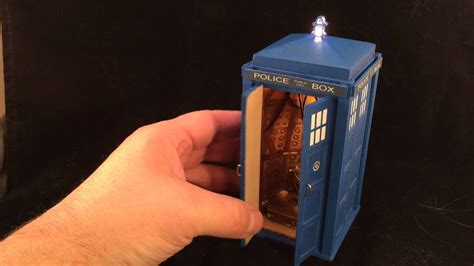 10th doctor larger the inside tardis engagement ring box youtube