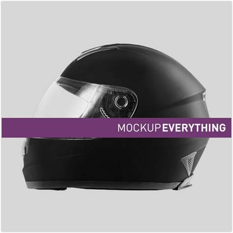 The best free mockups in one place. 22+ Realistic Helmet Mockup PSD Templates - Templatefor