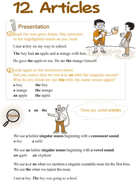 grammar articles worksheets for grade 3 pertaining options