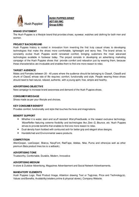 creative brief template creative brief exle
