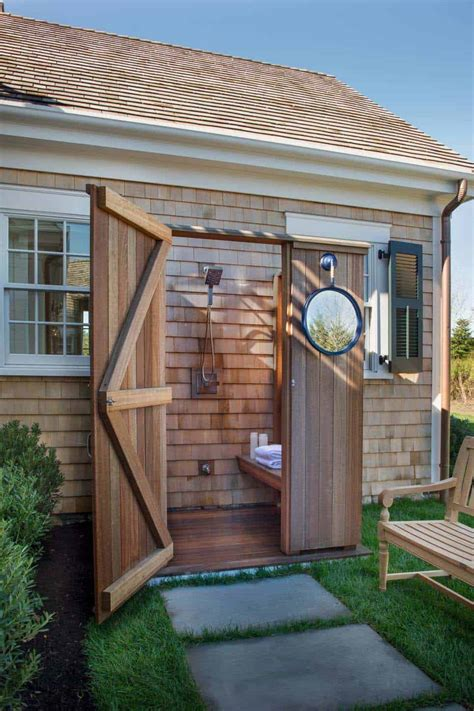 stunning outdoor showers   leave  invigorated