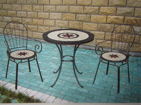 barbecue table tiles mosaic pit tabletop 2013 new