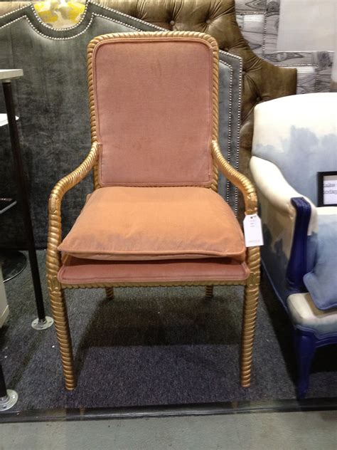 Gilt frame upholstered cocktail armchairs design. Goldie. High back armchair with feather cushion..drool ...