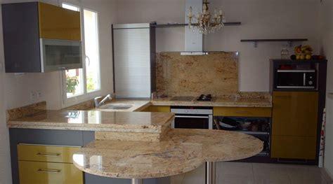 plan de cuisine granit plan de travail de cuisine en granit somat décor