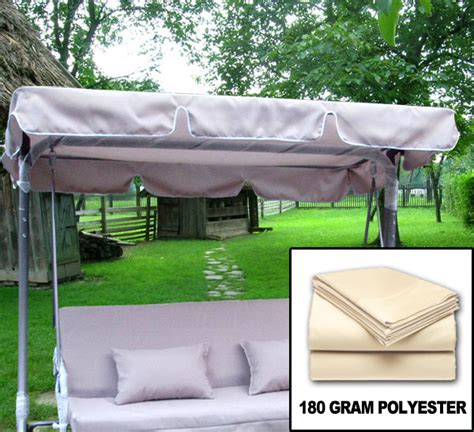 new garden outdoor swing canopy cover top replacement ebay