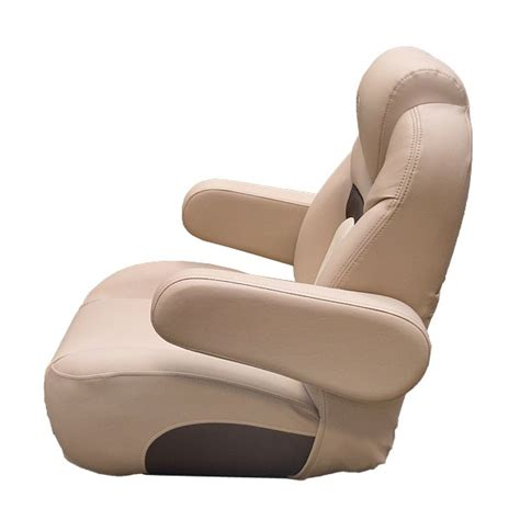 Pontoon Reclining Captains Chair by Sun Tracker Napa Non Reclining Pontoon Boat Captains Seat