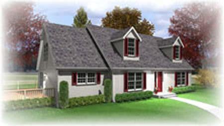 C134312 2 by Hallmark Homes Cape Cod Floorplan