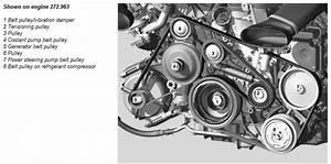 Service Manual  2006 Mercedes Benz Cls Class Timing Belt