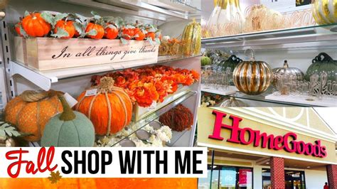 Homegoods Decor: FALL HOME DECOR SHOPPING AT HOMEGOODS!